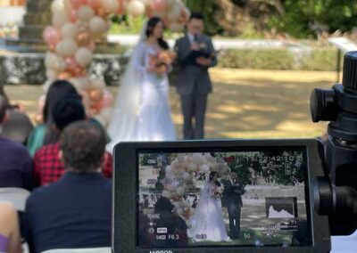image of streaming wedding in wellington